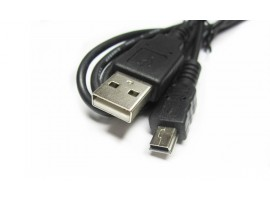 OTG USB transfer cable USB to mini USB cable T type MP3 data lines 1 m