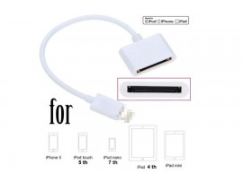 OTG i4 turn iPhone4 iPhone5 converter cable adapter cable USB Series I5 exchange conversion cable data lines