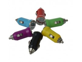 Car USB Adapter 600mA mini car charger