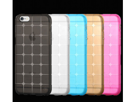 Iphone 6 / 6S TPU grid pattern phone protective shell